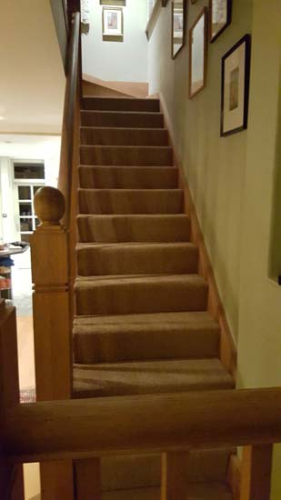 portfolio carpets - brown stairs 05