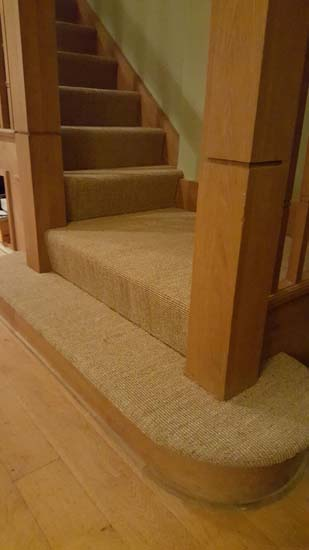 portfolio carpets - brown stairs 06
