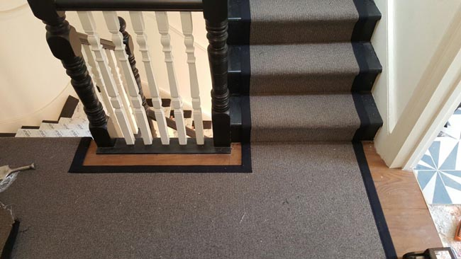portfolio carpets grey stairs black border 12