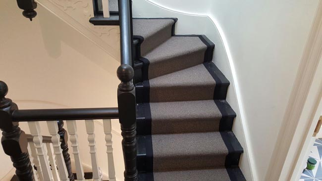 portfolio carpets grey stairs black border 15