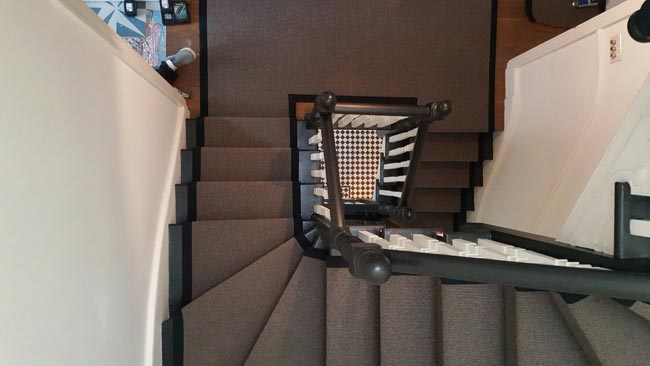 portfolio carpets grey stairs black border 23