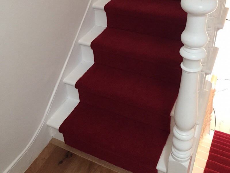 Red Stair Carpet The Flooring Group