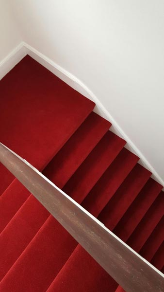 portfolio carpets red stair carpet 01