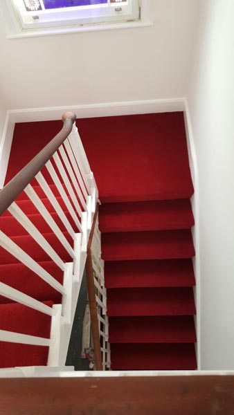 portfolio carpets red stair carpet 02