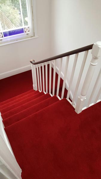 portfolio carpets red stair carpet 03