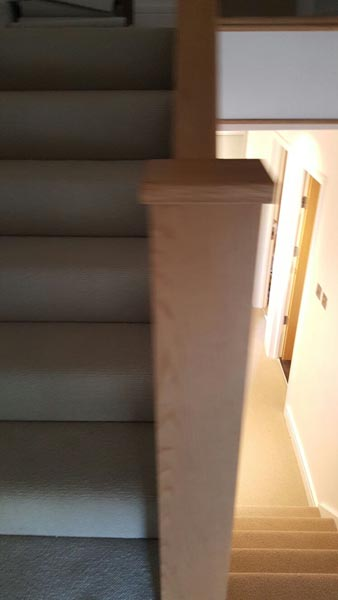 portfolio carpets rooms and stairs grey luxury carpet installation 01