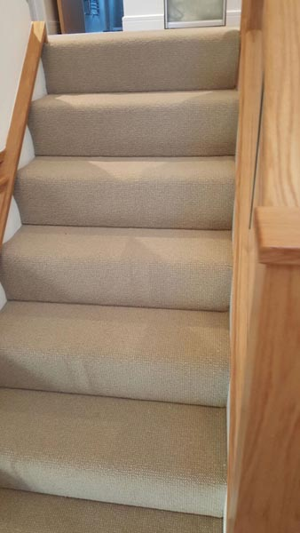 portfolio carpets rooms and stairs grey luxury carpet installation 03