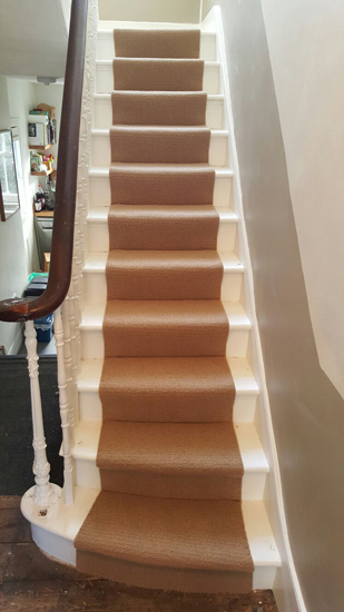 portfolio carpets - stairs carpet browny beige 02