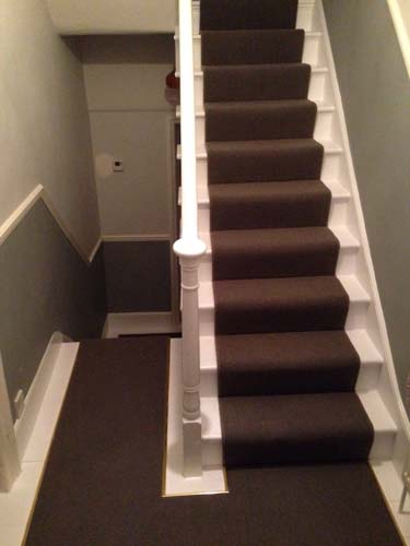 portfolio carpets stairs with brass stairrods 01