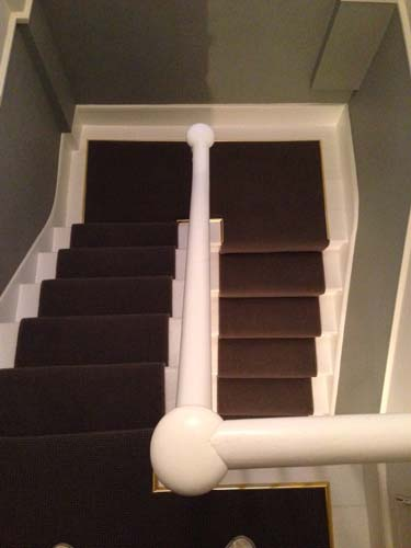 portfolio carpets stairs with brass stairrods 03