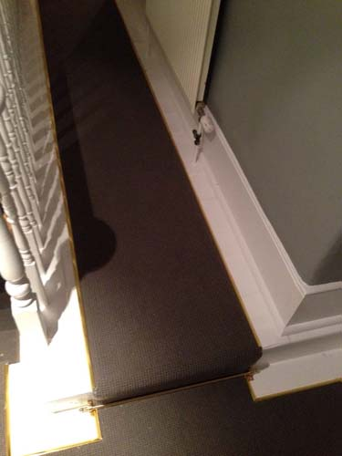 portfolio carpets stairs with brass stairrods 06