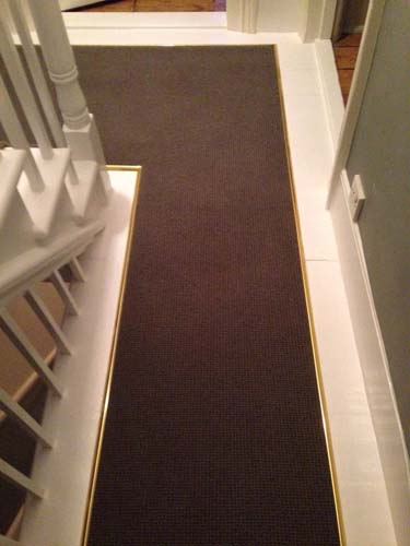 portfolio carpets stairs with brass stairrods 11