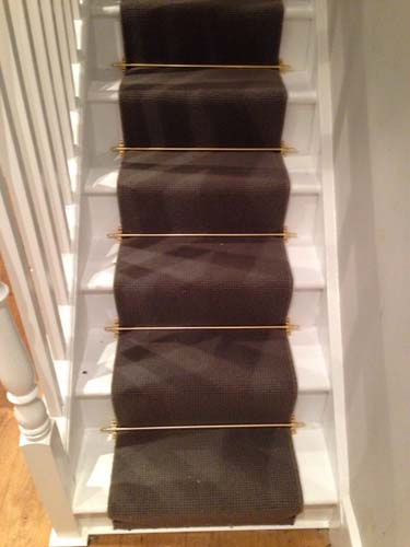 portfolio carpets stairs with brass stairrods 14