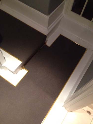 portfolio carpets stairs with brass stairrods 16