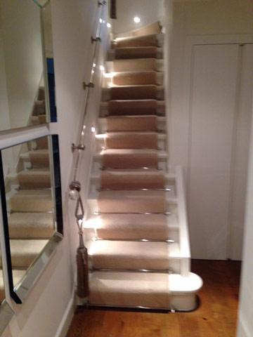 Portfolio Carpets Stairs With Runner Rods 04