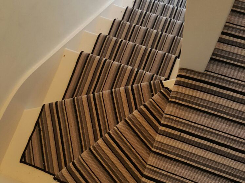 Striped Stairs Portfolio Carpets The Flooring Group