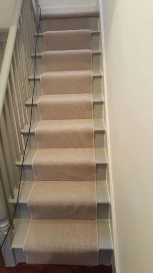 portfolio carpets - white stair runner 02