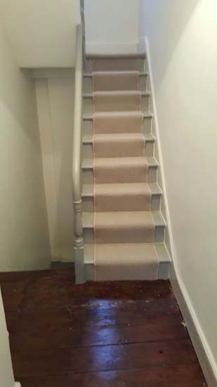 portfolio carpets - white stair runner 04