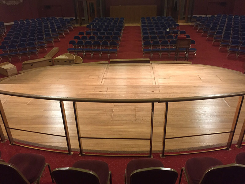 portfolio commercial grand hall sand and seal