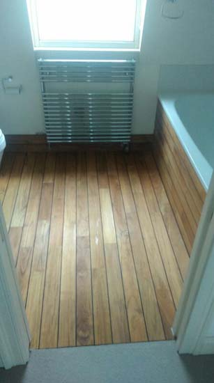Bathroom Panaget Teak The Flooring Group