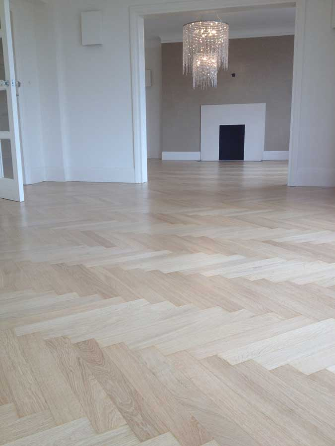 portfolio sanding and sealing mid-range oak herringbone 02