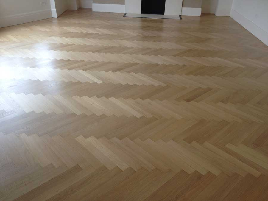 portfolio sanding and sealing mid-range oak herringbone 06