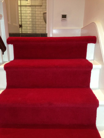 red carpet runner down stairs 3