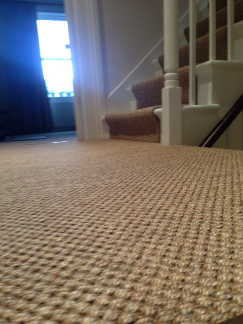 Sisal Carpet Stairs 11
