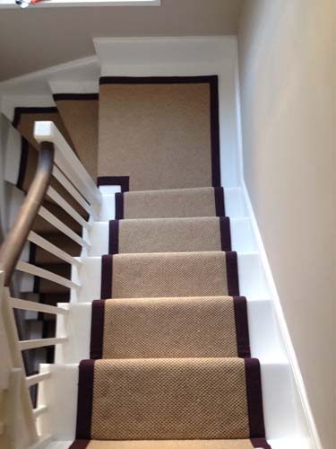 stair carpet black runner 1