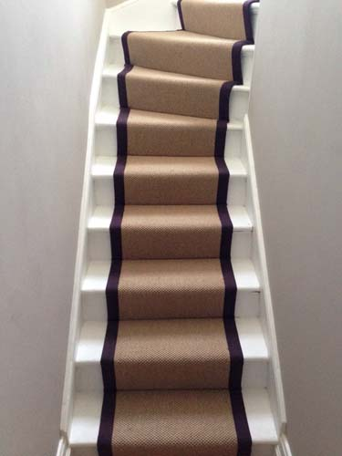 stair carpet black runner 3