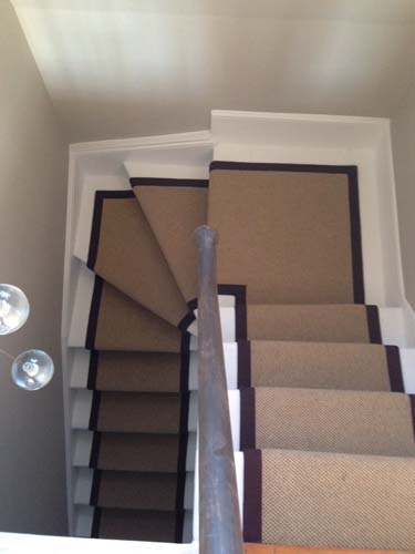stair carpet black runner 4