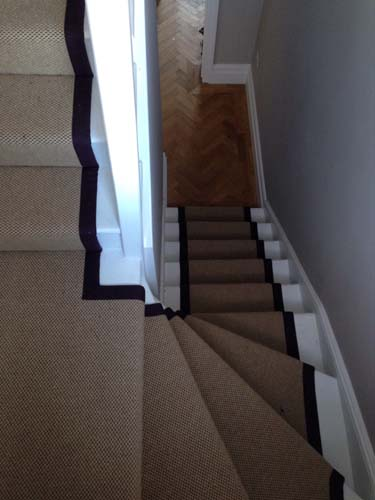 stair carpet black runner 5