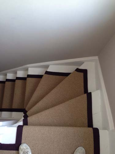 stair carpet black runner 6