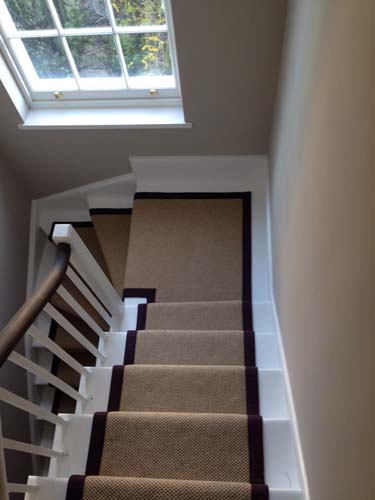stair carpet black runner 8
