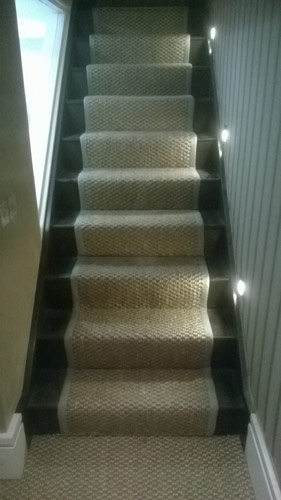 stair runner with whipping 2