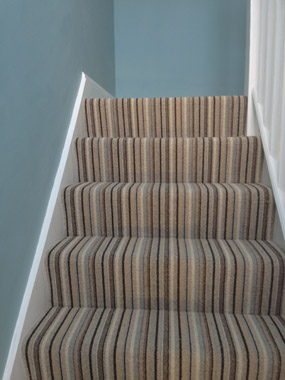 stairs and landings stripe carpet 03