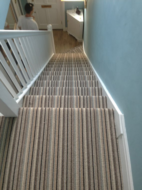 stairs and landings stripe carpet 04