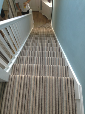 stairs and landings stripe carpet 05