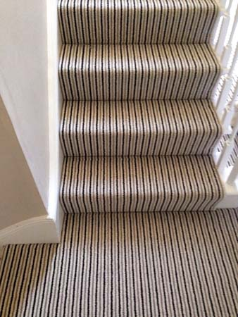 stripe usual way stair carpet 02