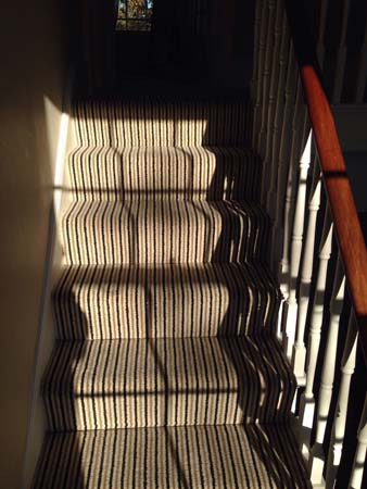 stripe usual way stair carpet 04