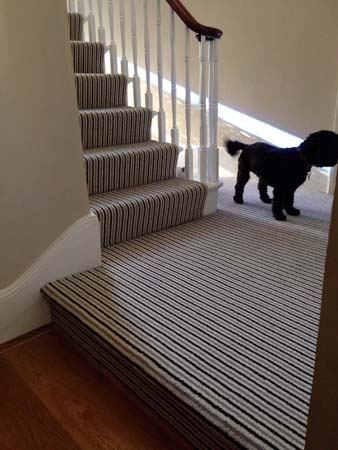 stripe usual way stair carpet 05