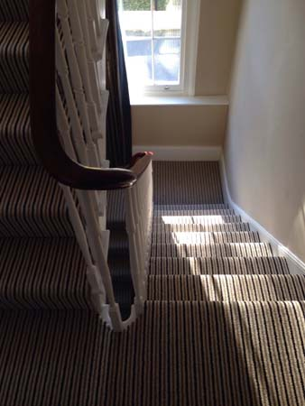 stripe usual way stair carpet 07