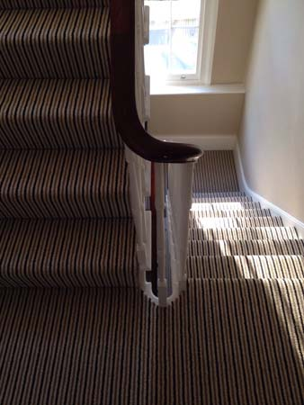 stripe usual way stair carpet 09