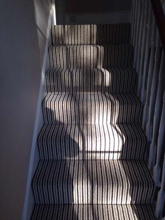 stripe usual way stair carpet 11