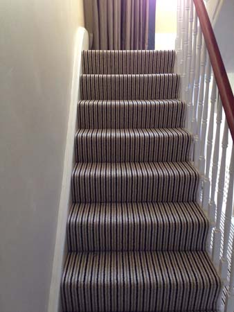 stripe usual way stair carpet 12