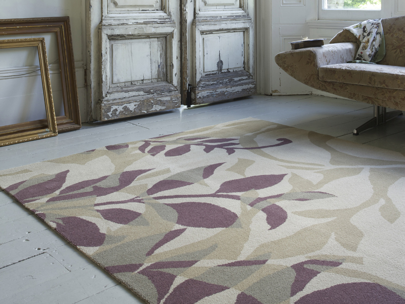 Brintons - Timorous Beasties Rugs - Kelp Grape